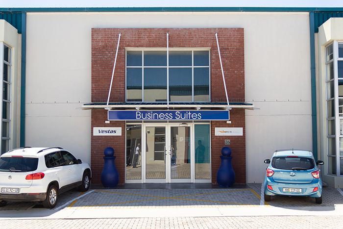 Business Suites entrance